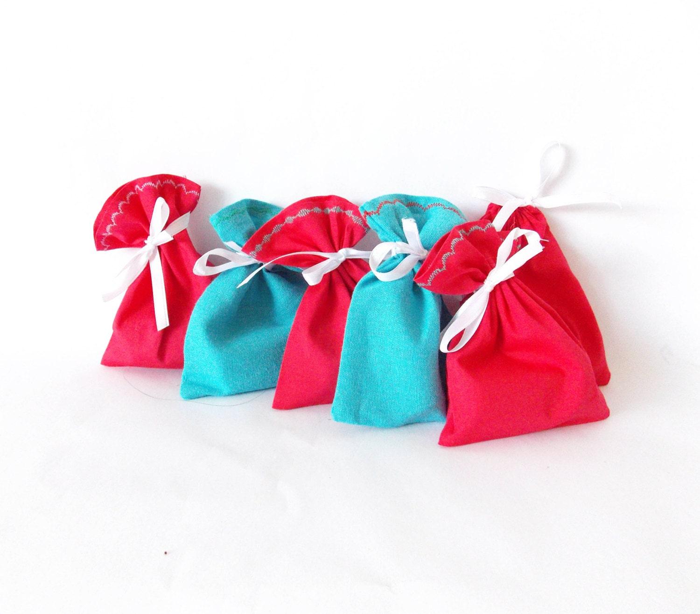 Your Colors Favor bags SET of 50 wedding favors no text