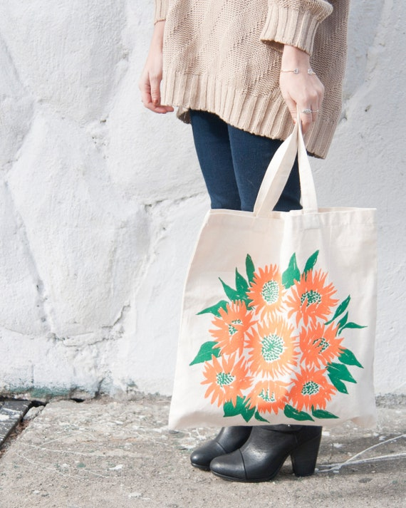 Sunflower Tote - Natural