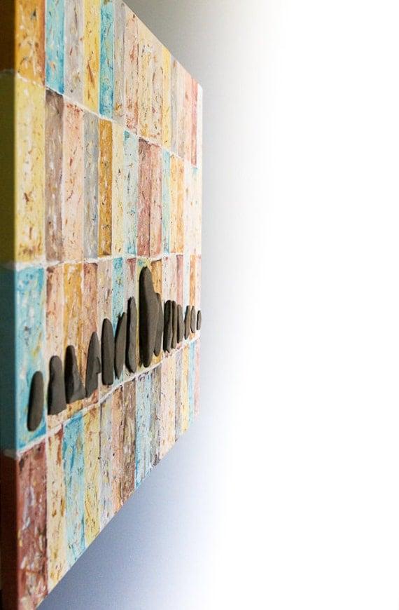 3D wall art canvas painting 3D modern wall art Large canvas art 3D canvas art 3D beach art Wall painting Arte 3D Large beach wall art canvas