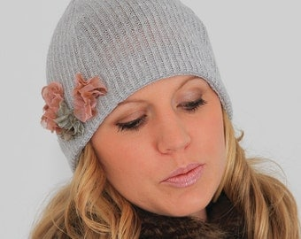 Easy sewing PDF pattern. Winter beanie hat pattern.
