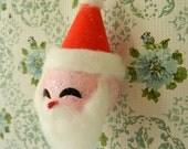 Vintage Santa Ornament | Vintage Christmas | Mid Century Santa | Made in Japan