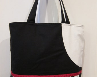 Piano Tote Bag for Everyday Musicians and Music Lovers Great Gift J1074