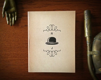 Set of 10 Top Hatter Personalized Note Cards, Great Gift Idea. Father's Day Gift, Graduation Gift, Gifts for Mom, Grandpa gifts, vintage