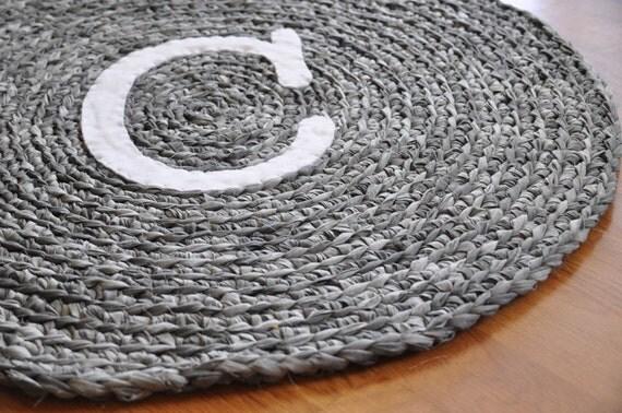 Reserved for Janie - Monogram C rug