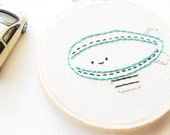Let's Go - Transportation Digital Hand Embroidery Pattern