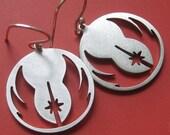 Star Wars Jedi Insignia Earrings