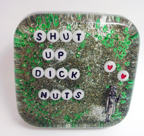 MATURE Shut Up Dick Nuts: Bathroom Decor for Roommates