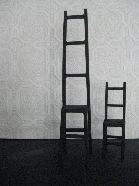Iron Chairs Sculpture Decorative Jewlery Holder