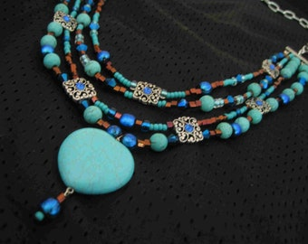 Calm Water Necklace by Diana