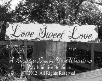 Love is Sweet So Grab A Treat. Candy Buffet Sign. Candy Bar Sign. Wedding Signs. Distressed Signs. Love is Sweet Banner. Wedding Reception.