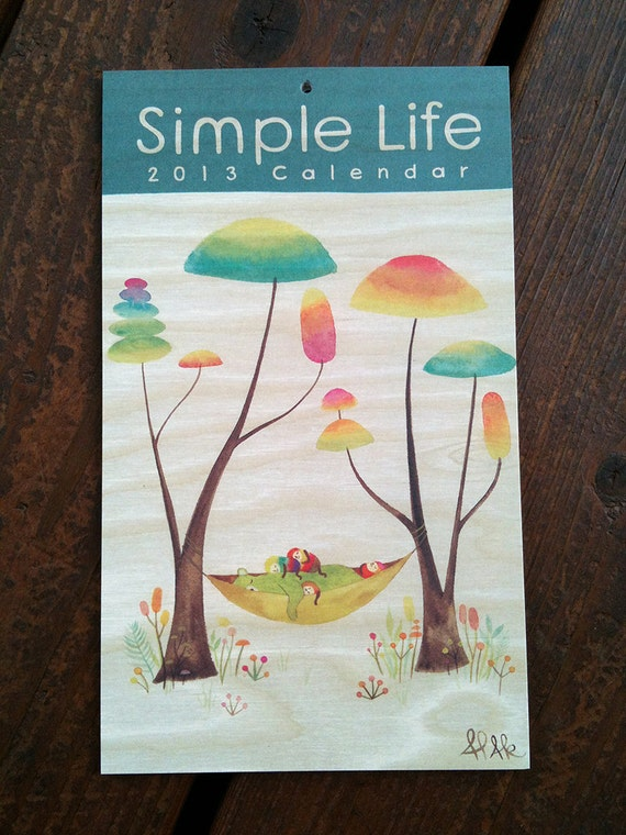 Simple Life 2013 Calendar