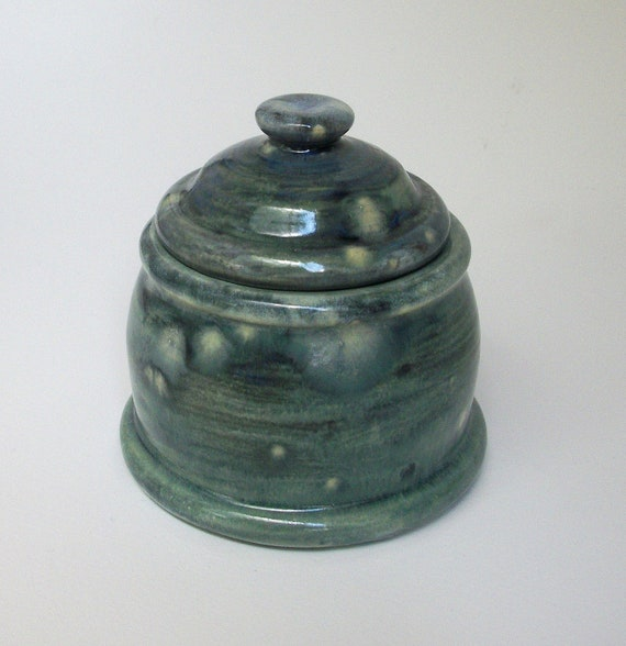 Little Handmade Ceramic Jar with Lid