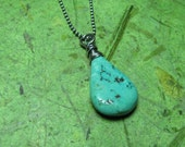 Cove - Turquoise and Sterling Silver Necklace