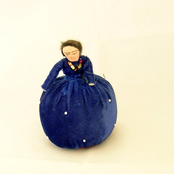 Vintage Navajo Woman Pincushion Doll