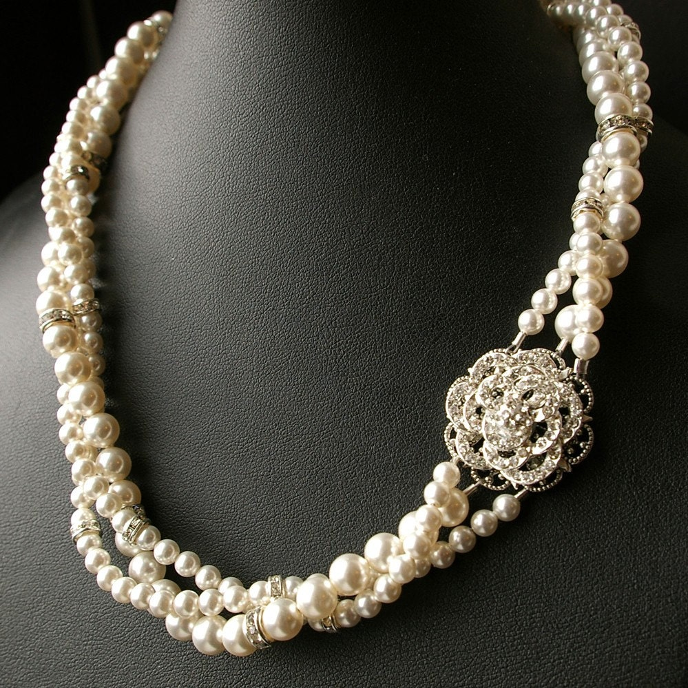 Vintage Bridal Necklace 92