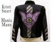 Mens Jacket XXXL Preppy Pagan Rockstar