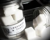 LEMONADE & TONIC Sugar Scrub Cubes ... Black Kettle