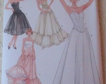 Simplicity 5006 Pattern Womens Historical Lingerie Corset, Underskirt, Petticoat, Womens Size HH 6-12
