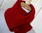 Knit Scarf - unisex - made to order