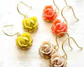 La Petite Rose TRIO  Dangle Earrings