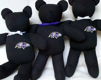 Custom Team Teddy Bear Handmade Collectible