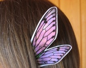 Fairy Fae Ear Wings White w/ Iridescence