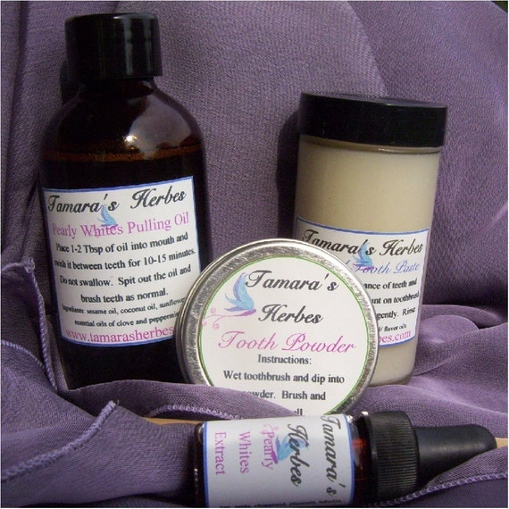 All Natural Complete Mouth Care Set