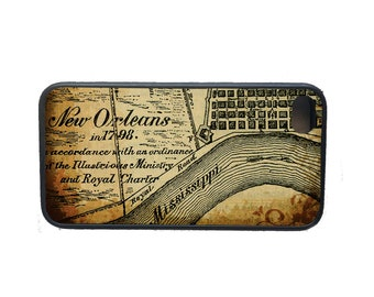 Antique Map of New Orleans Phone Case for  iPhone 4 4s 5 5s 5c SE 6 6s 7  6 6s 7 Plus Galaxy s4 s5 s6 s7 Edge