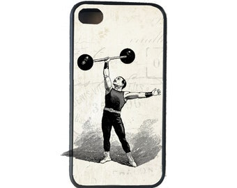 iphone 6 case Circus Strongman iPhone 4 Case, fits iPhone 4 and 4s, - iPhone 5 Case - Galaxy s3 s4 s5