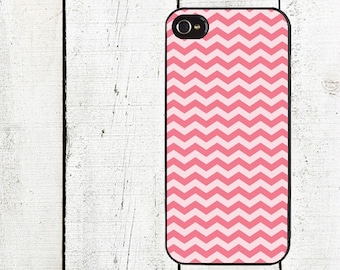 iphone 6 case Pink Chevron Cell Phone Case - Pattern iPhone 4,4s Case - Cell Phone Case - iPhone 5 Case - Valentine's Day