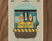 The Darjeeling Limited 22x16 Wes Anderson Movie Poster Print