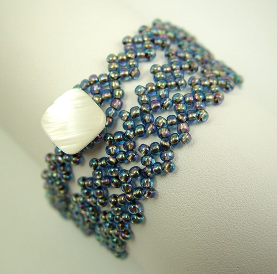 Golden Sapphire Wrap Bracelet