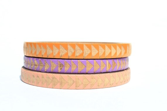 Azealia Skinny Bangle Set