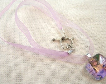 Girl's Fairy Princess Necklace