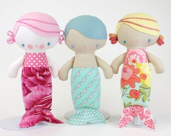 SALE Baby Mermaid Doll PDF Pattern