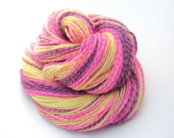Hottie, Twisted, Hand Painted, Hand Dyed, Yarn