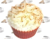 Cinnamon Coffee Cupcake Candle Spicy Coffee Scent