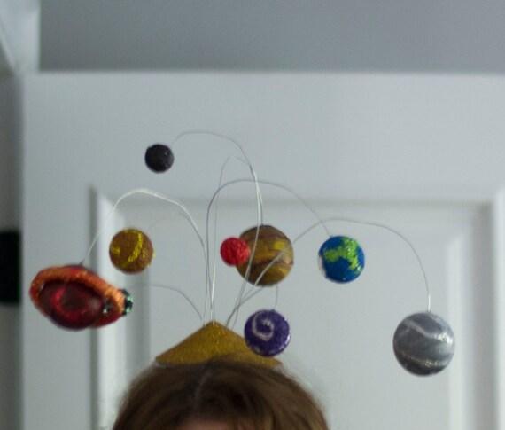 Custom- Planetary Fascinator for Stephanie Yuhas