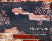 Reserved for Terry
