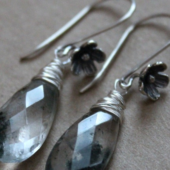 Tourmalated Quartz Earrings