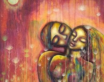 Lovers, print