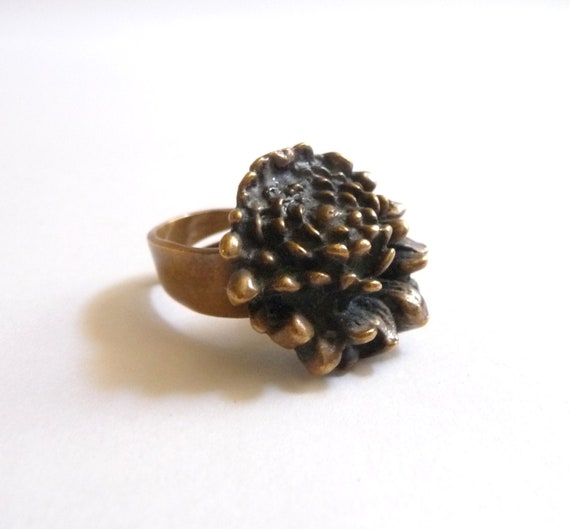 Pentti Sarpaneva Modernist Bronze Ring