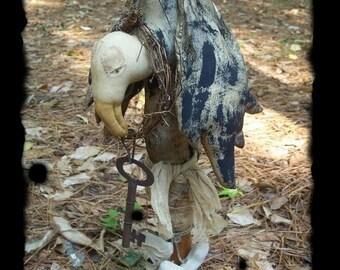 Primitive Halloween Vulture Makedo