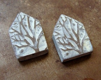 Winter Branches House Bead