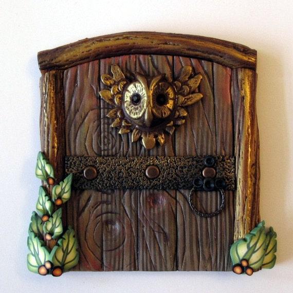 Barn Owl Fairy Door