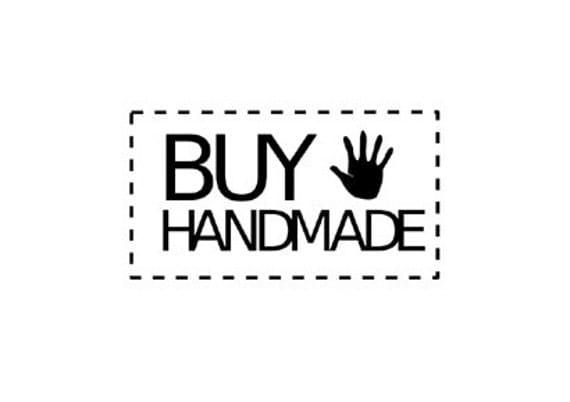 buy handmade rubber stamp
