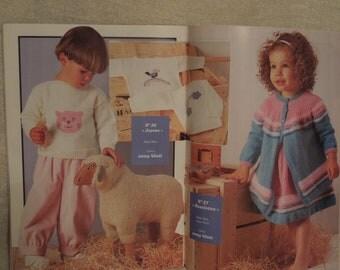 Vintage Anny Blatt French Knitting Magazine for Babies and Children No