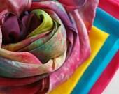 Pretend Play Rainbow Play Silk Set : Simple Sampler of Waldorf Inspired Toys (Rainbow Palette OR Custom)