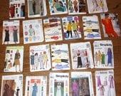 SALE - Lot of 21 Woman's Sewing Patterns - UNCUT - lot no 2