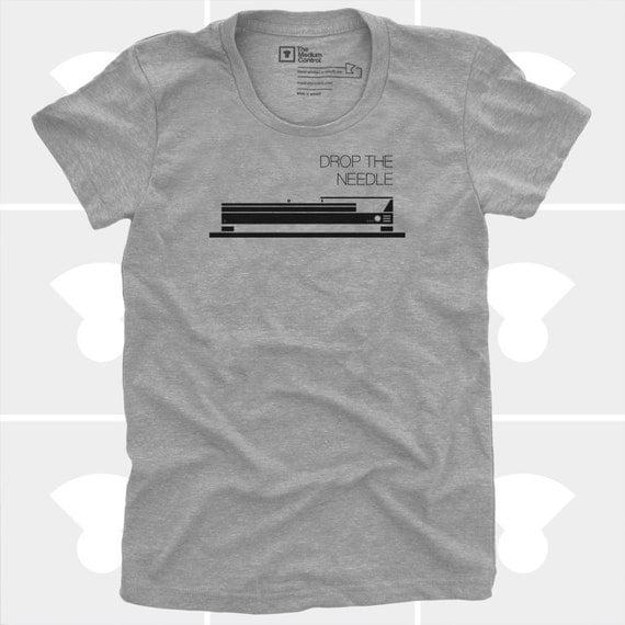 T-Shirt - Drop the Needle- Women